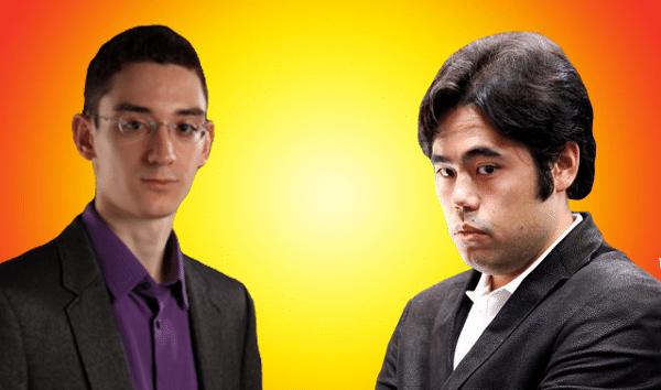 2016 Candidates Chess Tournament - Fabiano Caruana vs Hikaru Nakamura - Round 8