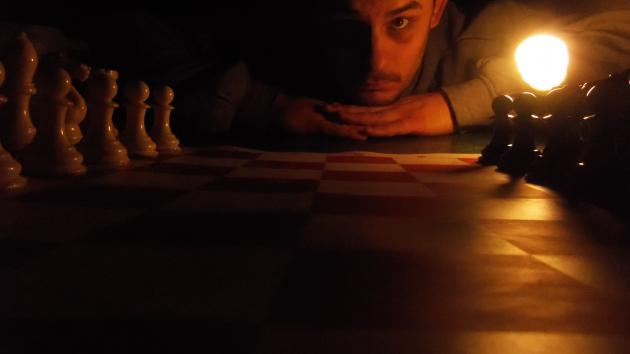 Chess,the the dark and light side.