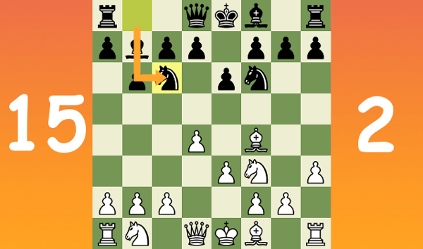 Standard chess game #20 - Queen's Indian Defense (Computer4-Impossible)