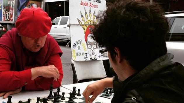 Beating a New Orleans Chess Master