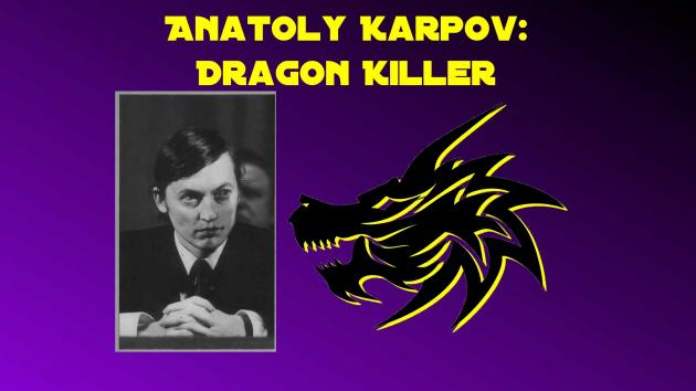 Anatoly Karpov: Dragon Killer, Game 3
