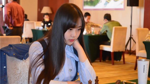 Chess beauty of China