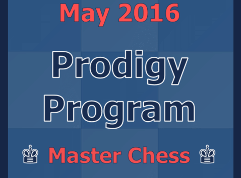 May 2016 Prodigy Program