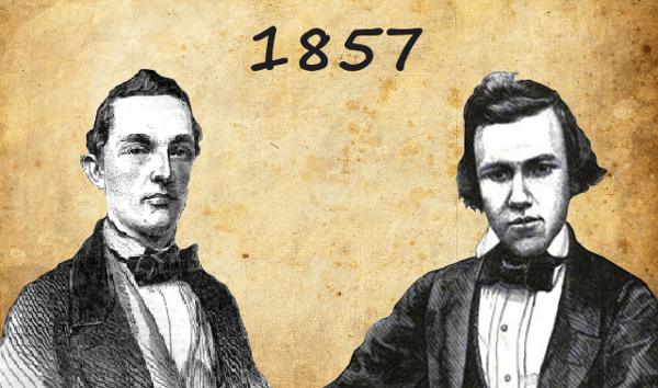 Louis Paulsen vs Paul Morphy  - 1st American Chess Congress | 1857