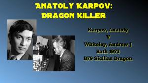 Anatoly Karpov, Dragon Killer Game 5