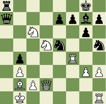 Mate in 4 Puzzle, Theme: Discovered Check