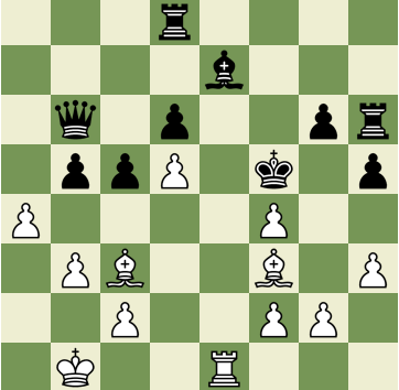 Mate in 2 Puzzle, Theme: Quiet Move