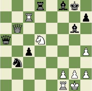 Mate in 3 Puzzle, Theme: Arabian Mate
