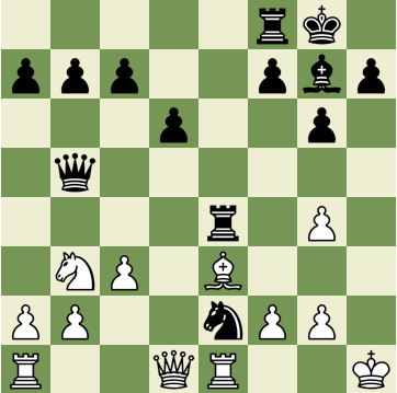 Mate in 2 Puzzle, Theme: Anastasia's Mate