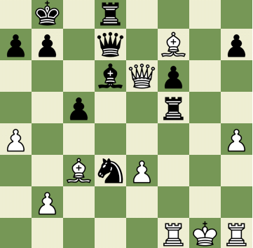 Mate in 2 Puzzle, Theme: Epaulette Mate