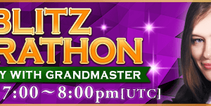 May Blitz Marathon with Natalia Pogonina
