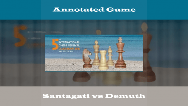 Llucmajor  - FM Santagati vs GM Demuth