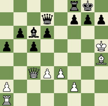 Mate in 5 Puzzle, Theme: Morphy's Mate