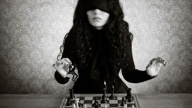 شطرنج چشم بسته