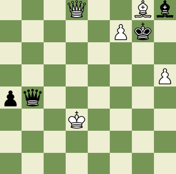 Mate in 2 Puzzle, Theme: X-ray Attack/Defense
