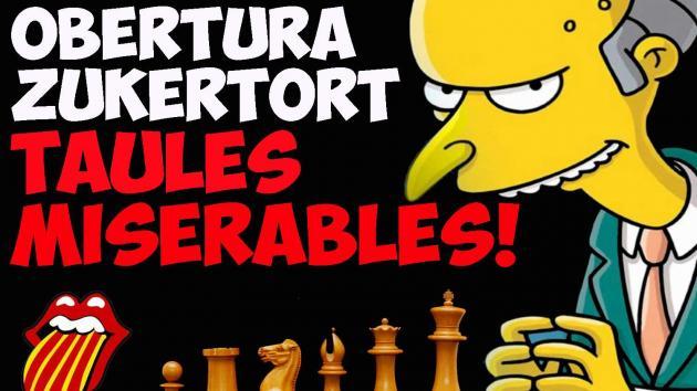 Obertura ZUKERTORT, taules miserables!
