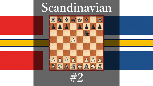 How play against Scandinavian Defense #2