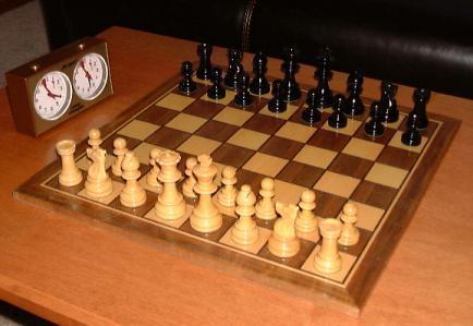 K. Popkin - N. Bellon 0-1, a forking tactic