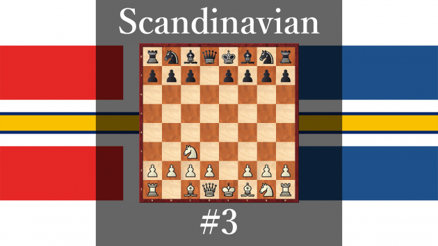 How play against Scandinavian Defense #3