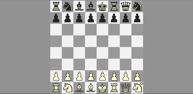 Chess960: A double gambit from #645 opening to the ending two pawns down