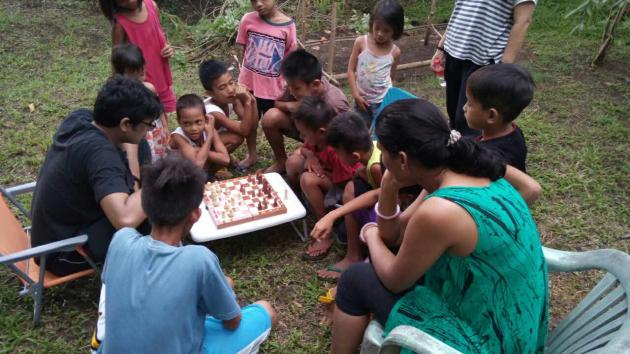 Brilliant chess minds in Filipino rural...superb kids with amazing chess skill..no way to groom