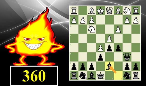 Blitz Chess #360: French Defense, Advance, Wade variation