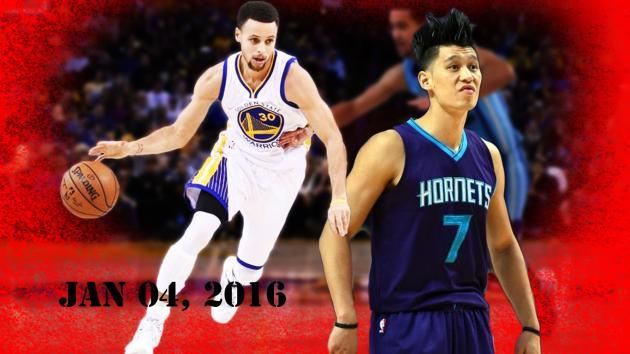 Jeremy Lin vs Steph Curry