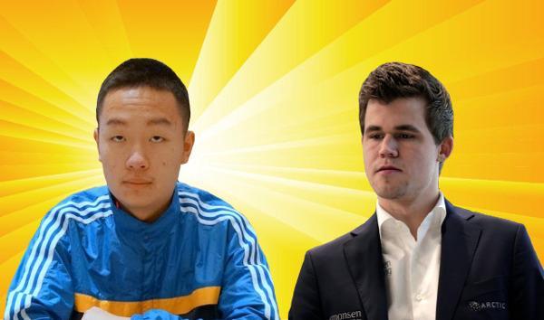 Wei Yi vs Magnus Carlsen - 2016 Bilbao Masters Final