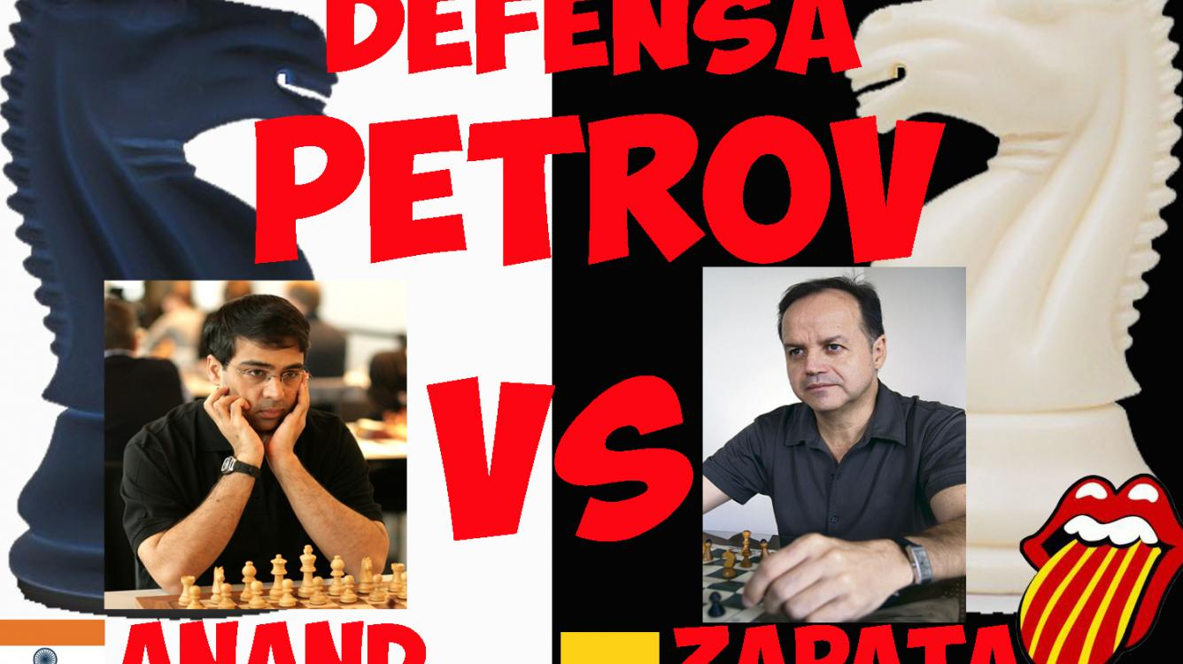 Zapata vs Anand 1988 Defensa PETROV
