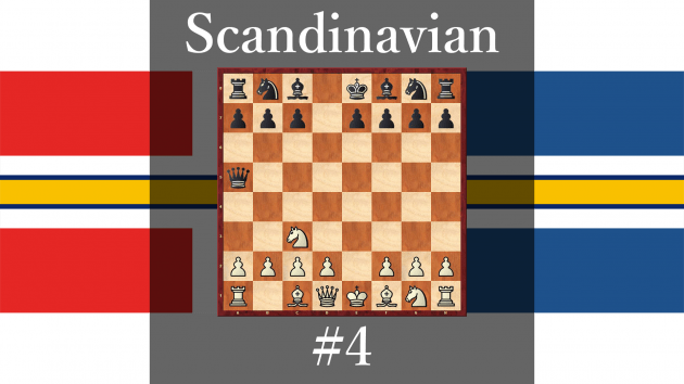 How play against Scandinavian Defense #4