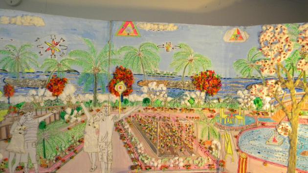 3-D Art - Island Renaissance