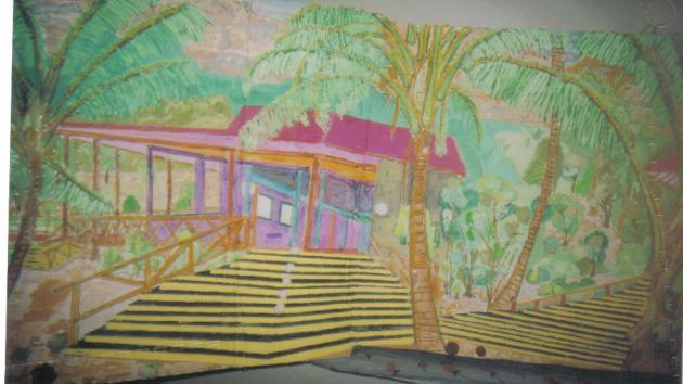 3-D Art - Island Paradise