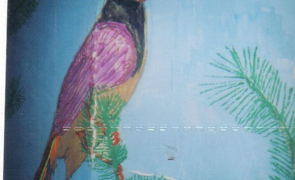 3-D Arts - Tree Bird - By: Siafa B.Neal