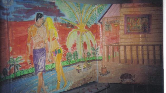 3-d Arts - Love Beach House - By: Siafa B.Neal