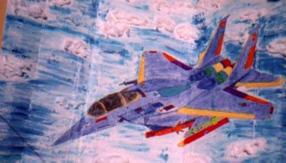 3-D Arts - Air Force F-14 Fighter