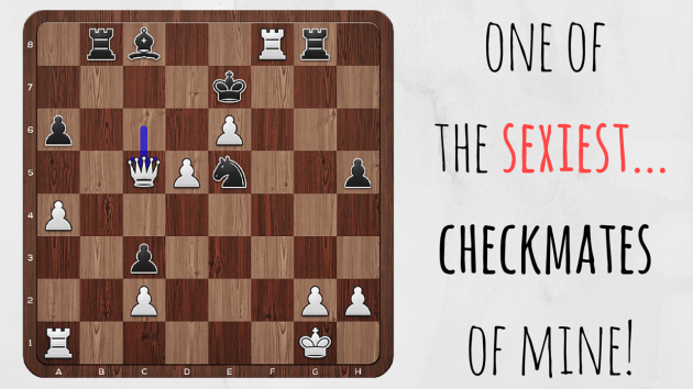 One of the sexiest checkmates of mine! 2 minutes of fun :)