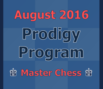 August 2016 Prodigy Program with Shirov