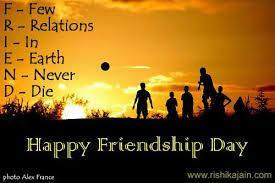 HAPPY FRIENDSHIP DAY!!!!!