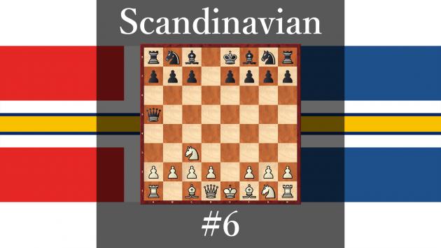 How play against Scandinavian Defense #6