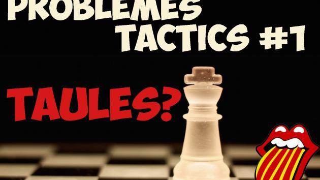 Problemes tàctics d'escacs #01 Taules?