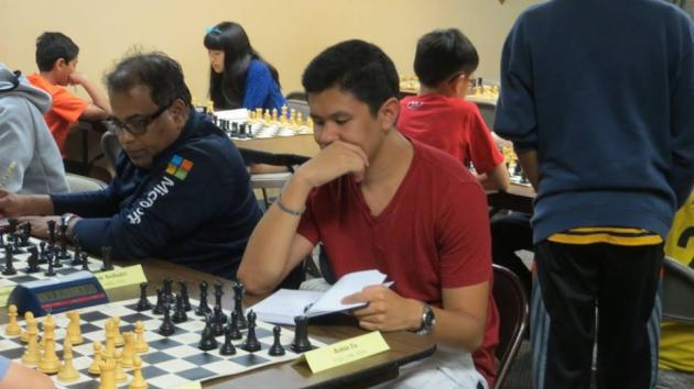 I have to lose to you Tu?: FIDE Round Robin Round 4