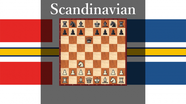 How play against Scandinavian Defense #8