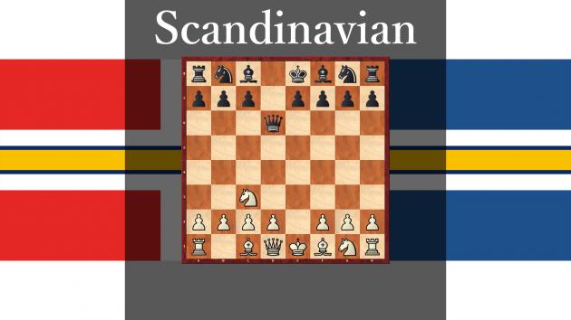 How play against Scandinavian Defense #8