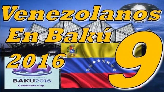 Venezolanos en las Olimpiadas Bakú 2016 - Rondas 9,10,11