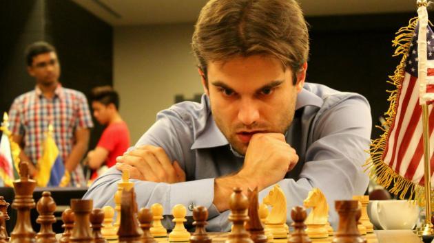 GM Samuel Shankland (2679) hace una Miniatura en la Ronda 1 Bakú 2016