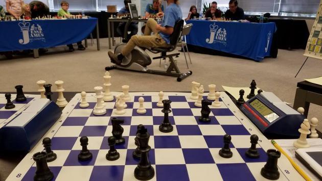 Timur Gareyev - J. P. Hyltin Blindfold Simul Game