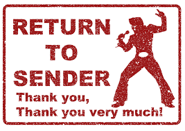 "If Elvis played Chess he'd sing ... ""Return to Sender"""