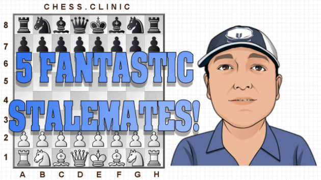 New video: 5 fantastic stalemate ideas!