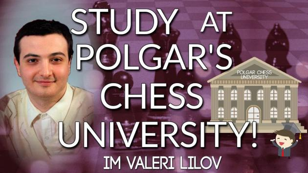 Study at Susan Polgar's Chess University!