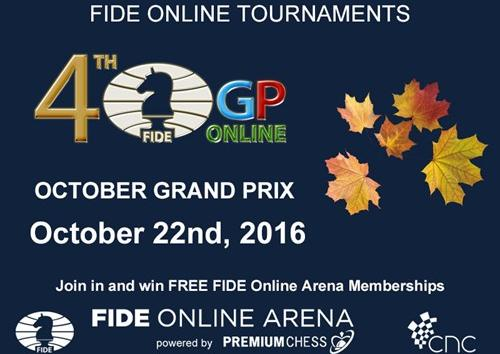 The 4th FIDE Online Grand Prix.